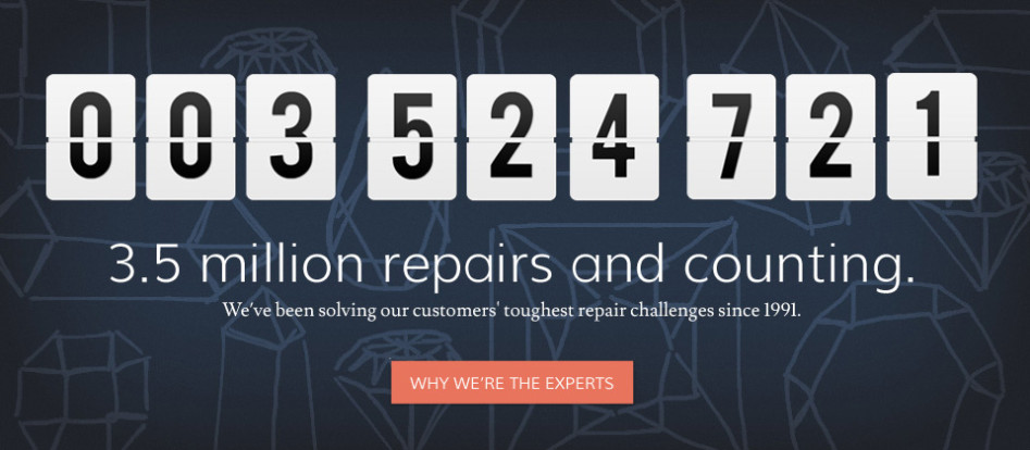 3.5 million repairs and counting